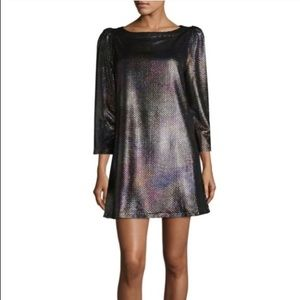 Free People Diamonds R Forever holographic dress